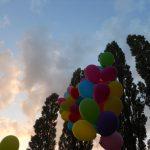 Luftballons am Abend - Bild JunepA